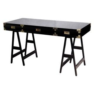Selamat Designs Chiba Black Lacquer Study Desk