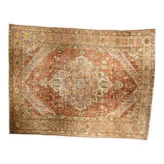 "Bellwether Rugs Vintage Persian Bactiari Rug -10'7""x14'4"""