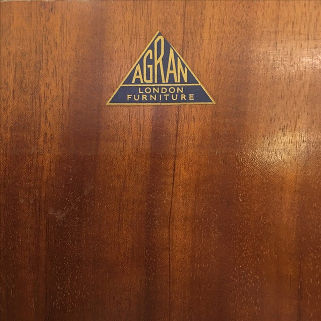 1920's Agran Clothing Armoire by London Furniture - Image 9 of 9