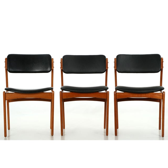 Erik Buch Danish Model 49 Dining Chairs - Set of 10 - Image 10 of 11