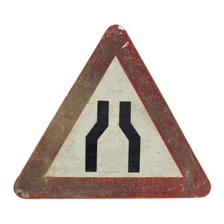 Triangular French Road Sign