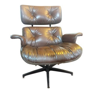 Vintage Eames Style Lounge Chair