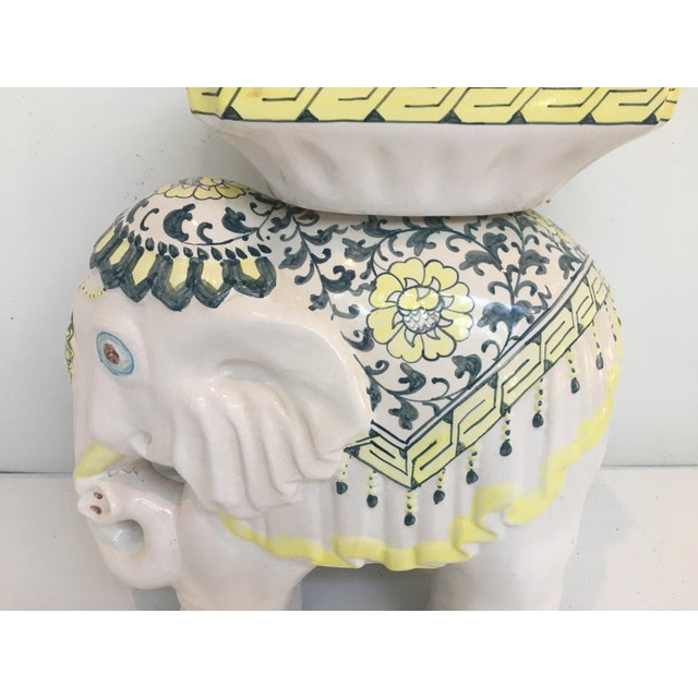 Elephant Garden Stool Side Table - Image 6 of 7