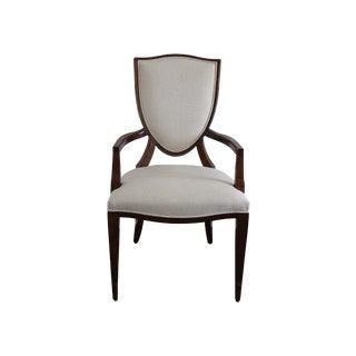 Henredon Shield Arm Chair