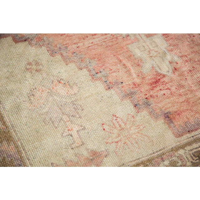 "Distressed Oushak Runner - 4'4"" x 11'9"" - Image 6 of 8"