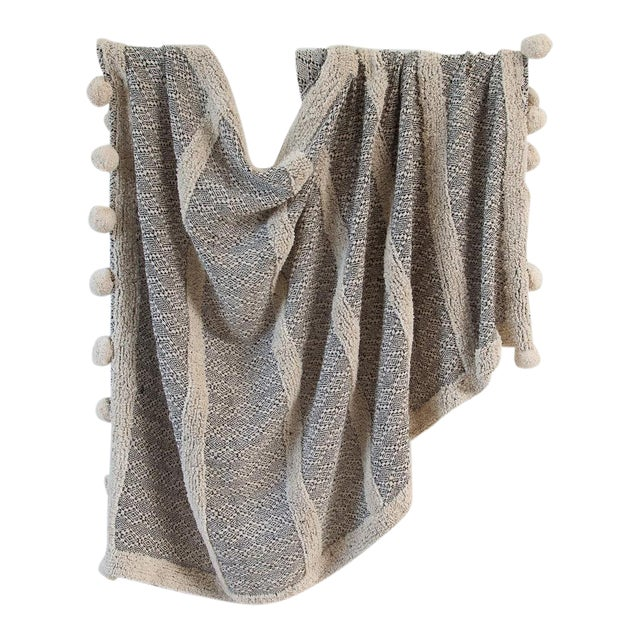 Zenza Boho Nomad Woven Cotton Throw - Image 1 of 2