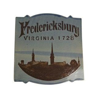 Fredericksburg Virginia Ceramic Tile Trivet