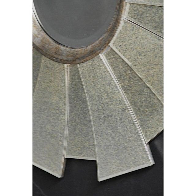 Contemporary Regency Sunburst Mirror - Image 3 of 3