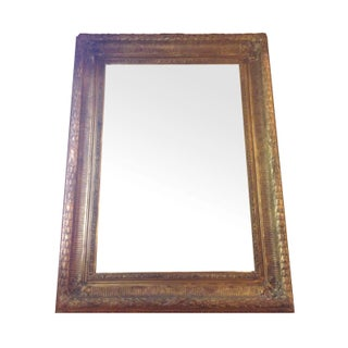 Neoclassical Gilt Composition Mirror
