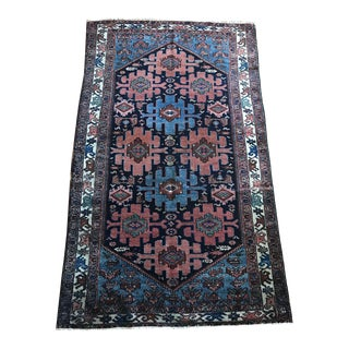 "Antique ""Marcell"" Hamadan Malayer Rug - 3′5″ × 5′11″"