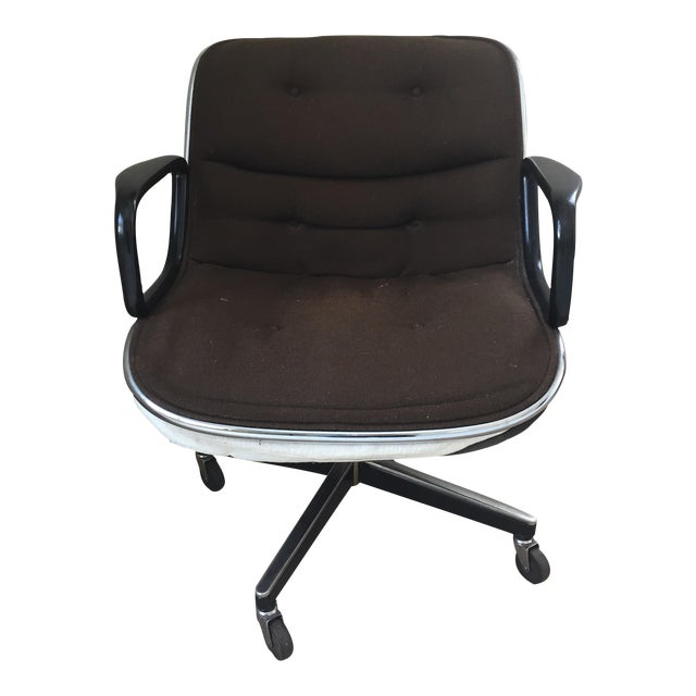 knoll vintage desk chair circa 1974 chairish