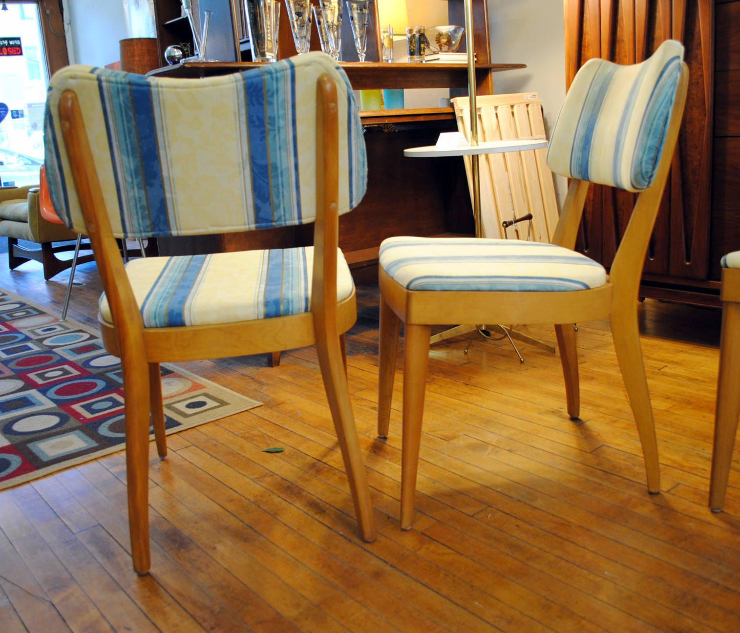 1950u0027s Heywood Wakefield Dining Chairs  Set Of 4   Image 3 ...
