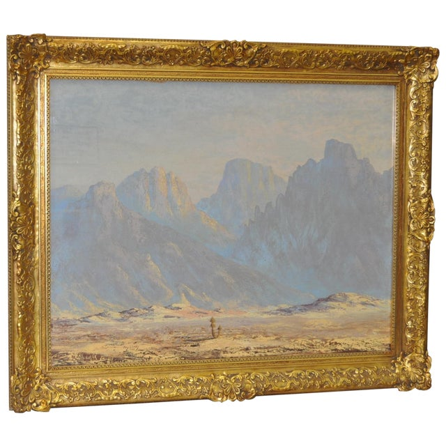 Image of Thomas L. Lewis Taos New Mexico Landscape Painting