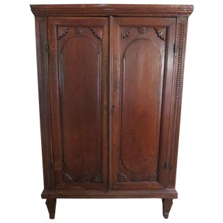 Dutch Colonial Style Armoire
