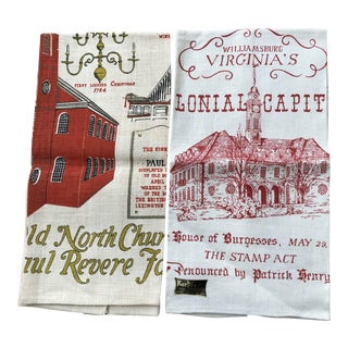 Pure Linen Tea / Kitchen Towels - a Pair