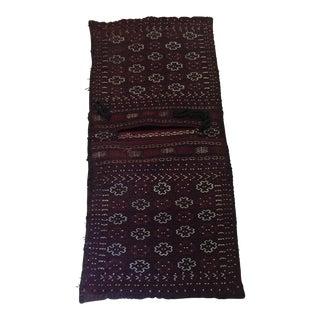 Turkish handwoven Saddlebag