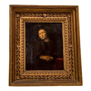 Abraham VanDyck Painting - Old Woman