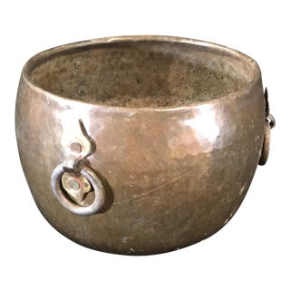 Hammered Bronze Pot