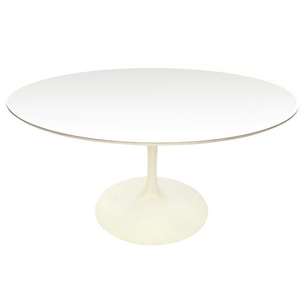 Image of Early Saarinen Knoll Round Tulip Table