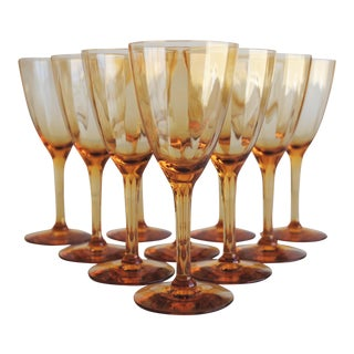 Vintage Cordial Glasses - Set of 10