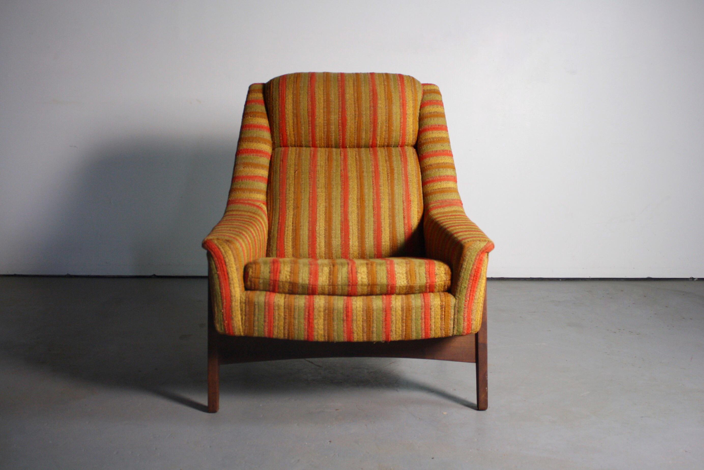folke ohlsson for dux midcentury lounge chair image 3 of 4