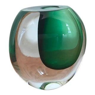Kosta Boda / Vicke Lindstrand Mid-Century Swedish Modern Art Glass Vase