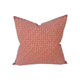 Pink Batik Design Pillow