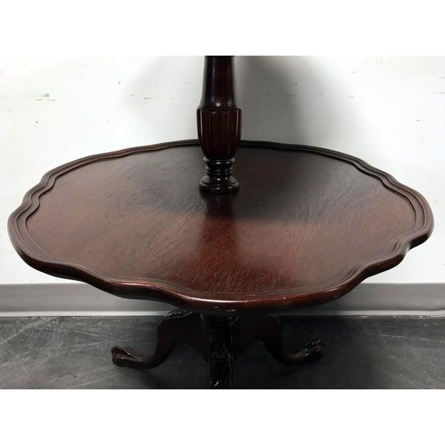 Vintage Mersman 3-Tier Mahogany Table - Image 7 of 10