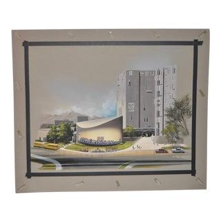 1970s Denver Art Museum Architectural Maquette by Gottfried