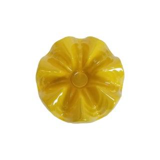 Yellow Terracotta Frankoma Casserole Warmer