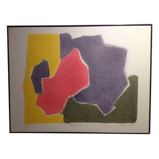 """Madrigal II"" Framed Print by Esteban Vicente"