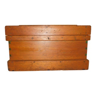 Antique Carpenter's Tool Chest Trunk