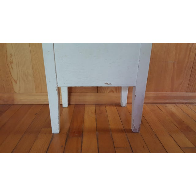 Shabby Chic Wooden Stool - Image 3 of 7
