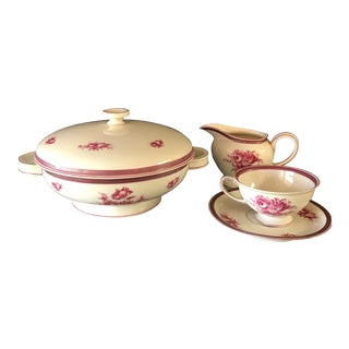 Rosenthal Winnifred Pink Floral Porcelain Tea Set