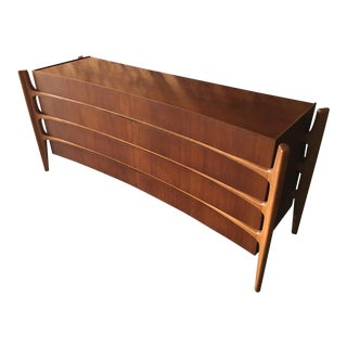 Mid Century Sculpted Dresser by William Hinn