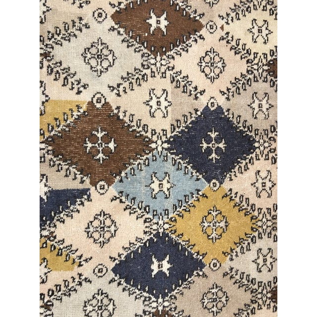 Vintage Turkish Zeki Muren Designed Rug - 4'10 X 7' - Image 4 of 8