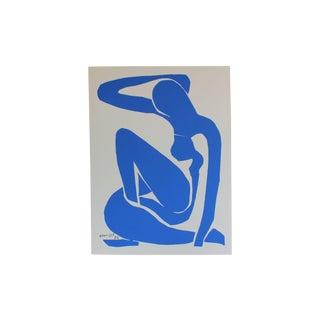 Blue Nude 1 Matisse Serigraph