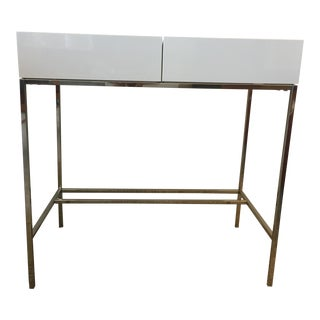 West Elm Lacquer Storage Console Table