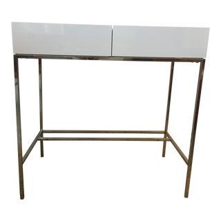 West Elm Lacquer Storage Console Table