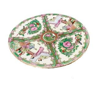 Chinoiserie Rose Medallion Plate