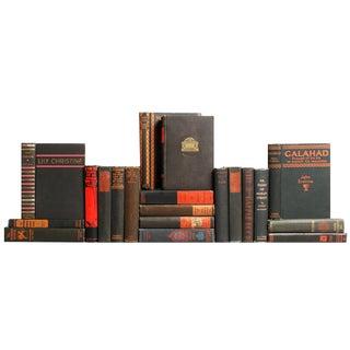 Vintage Charcoal Books - Set of 20