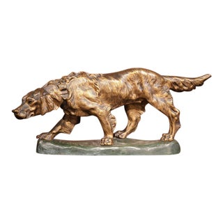 French Bronze Hunting Dog