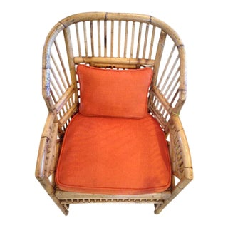 1960s Vintage Bamboo Chair