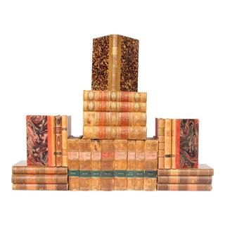 Antique Leather-Bound Books S/25