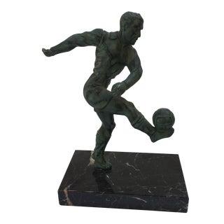 European Football Trophy Statue