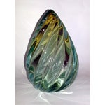 Image of Mid-Century Murano Glass Bookend