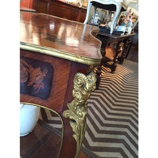 Napoleon III Style Writing Table - Image 5 of 8