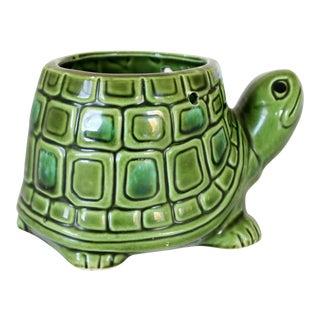 Small Ceramic Turtle Planter