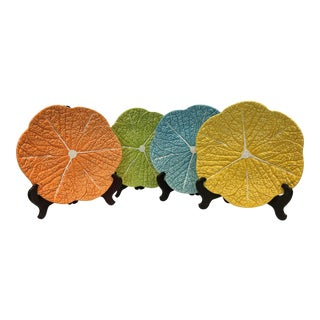 Portuguese Lettuce Plates - Set of 4