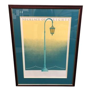 """Limited Edition Print Of """"The Necklace of Lights"""" Lake Merrit"""